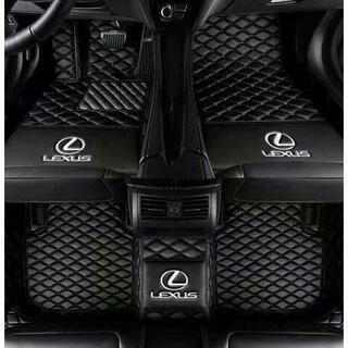 レクサス専用 自動車用フロアマット皮革フロアマット洗いやすいカーペット(車内アクセサリ)