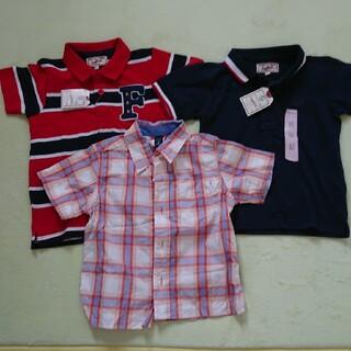 motherways - 3枚セット マザウェイズ ポロシャツ2枚 ネイビー、レッド、GAPシャツ