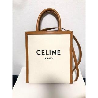 celine - CELINE バーティカル スモール キャンバストート