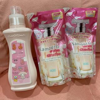 サムライ(SAMOURAI)のサムライウーマン ホワイトローズ 柔軟剤 マイメロディ(洗剤/柔軟剤)