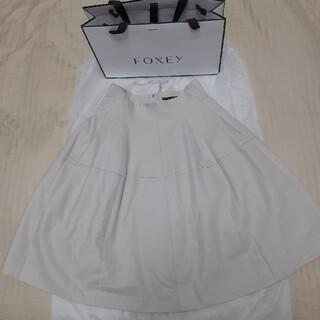 FOXEY - 美品 FOXEY フォクシー スカート ベルフラワーピケ 40サイズ