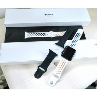 Apple Watch - Apple Watch Series3 GPSモデル 42mm 純正バンド2本