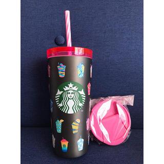 Starbucks Coffee - スターバックス ステンレス タンブラー フラペチーノ  2021 福袋
