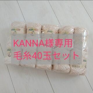 KANNA様専用 毛糸40玉セット(生地/糸)
