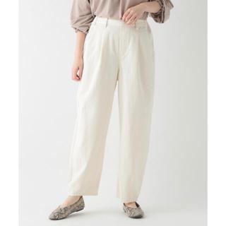 STUDIO CLIP - 【新品タグ付き】スラウチロールパンツ 白 ホワイト パンツ スタディオクリップ