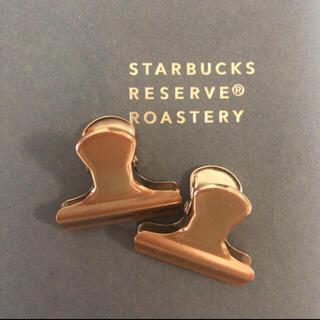 Starbucks Coffee - スタバ リザーブ ロースタリー クリップ