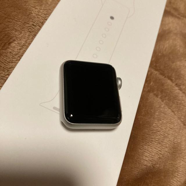 Apple Watch(アップルウォッチ)のApple Watch series3 GPSモデル 38mm メンズの時計(腕時計(デジタル))の商品写真