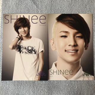 シャイニー(SHINee)のSHINee 2011年代々木体育館SMTOWN公式ポストカード(値下げします)(K-POP/アジア)