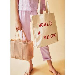 L'Appartement DEUXIEME CLASSE - ラスト!ホテル イルペリカーノ トートバッグ ロンハーマン ロングトラックフーズ