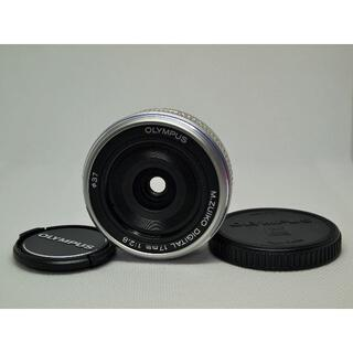 OLYMPUS - 良品 M.ZUIKO DIGITAL 17mm F2.8 単焦点パンケーキレンズ