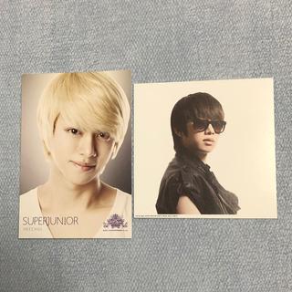 スーパージュニア(SUPER JUNIOR)のSUPER JUNIOR 2011年代々木体育館SMTOWN公式ポストカード(K-POP/アジア)