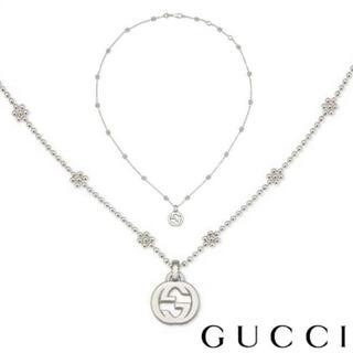 Gucci - 新品!グッチ GUCCI インターロッキングG シルバーネックレス 479221