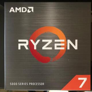 AMD Ryzen7 5800X 新品未開封(PCパーツ)
