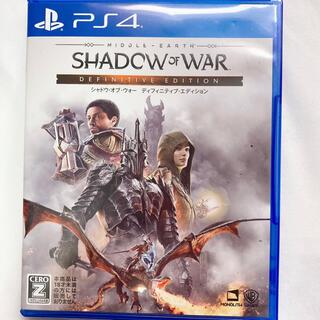 PlayStation4 - シャドウオブウォー ディフィニティブ  ps4 シャドウ・オブ・ウォー RPG
