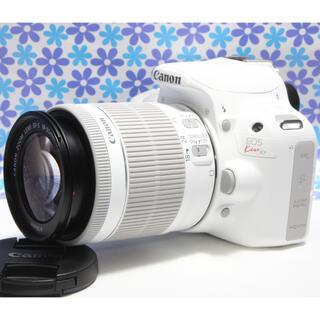 Canon - 極美品★おすすめ一眼レフ★Canon EOS kiss X7★ホワイトカラー★
