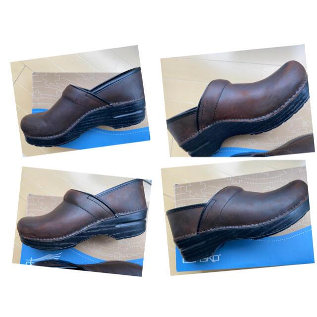 dansko(ダンスコ)の*maoam様専用*ダンスコプロフェッショナル*ブラウン*38* レディースの靴/シューズ(ローファー/革靴)の商品写真
