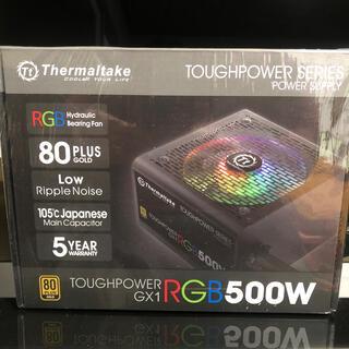 Thermaltake GOLD RGB 500W 電源 新品(PCパーツ)