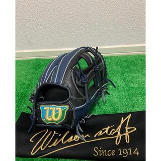 ウィルソン(wilson)の定価44,000円 ウィルソン最高級軟式グローブ 外崎モデル(グローブ)