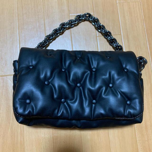 ZARA(ザラ)のZARA ハンドバッグ レザーバック レディースのバッグ(ハンドバッグ)の商品写真
