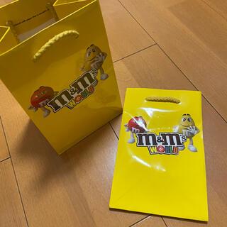 エムアンドエム(M&M)のm&m's ショップ袋(ショップ袋)