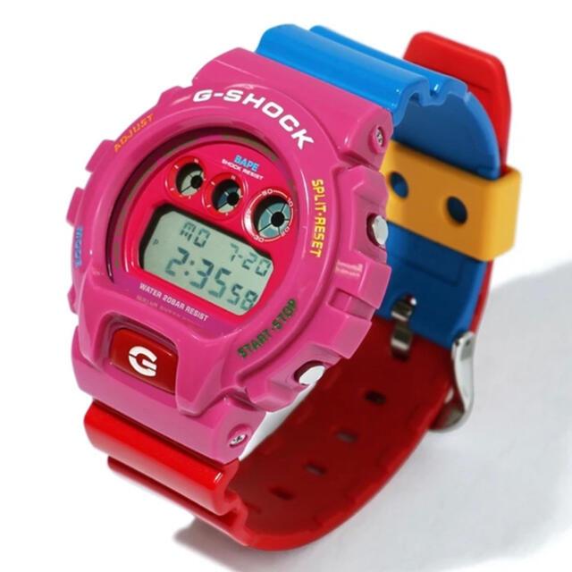 A BATHING APE(アベイシングエイプ)のBAPE KID CUDI G-SHOCK DW6900 Gショック 新品 メンズの時計(腕時計(デジタル))の商品写真