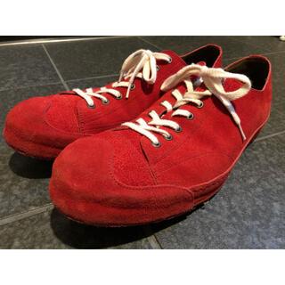 グラム(glamb)のglamb Hilary leather sneakers スウェードスニーカー(スニーカー)