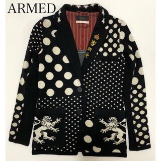 アームド(ARMED)のARMED アームド ニットテーラードジャケット(テーラードジャケット)
