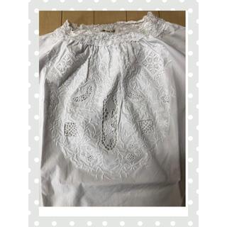 ピュアルセシン(pual ce cin)の刺繍 プルオーバー ブラウス(pual ce cin)(シャツ/ブラウス(長袖/七分))