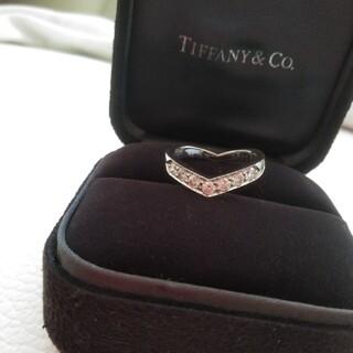 Tiffany & Co. - ティファニーVバンドリング!ダイヤモンドリング