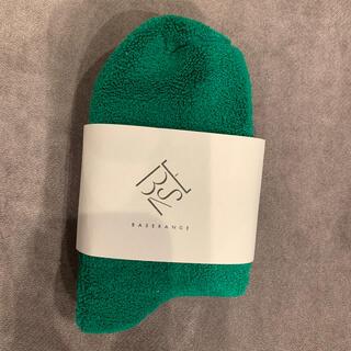 Ron Herman - Baserange Buckle Ankle Socks – Green