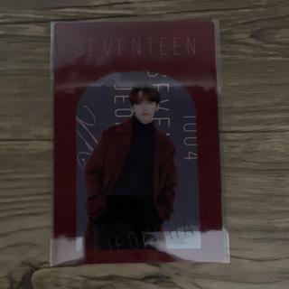 セブンティーン(SEVENTEEN)のSEVENTEEN くじ D賞 ポストカード ジョンハン(アイドルグッズ)
