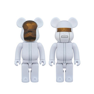 BE@RBRICK DAFT PUNK WHITE SUITS Ver.