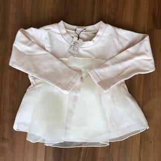 プティマイン(petit main)のプティマイン  チュールトップス(Tシャツ/カットソー)