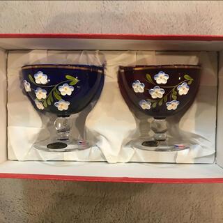 ボヘミア クリスタル(BOHEMIA Cristal)のお値下げ!ボヘミアグラス 夫婦(グラス/カップ)