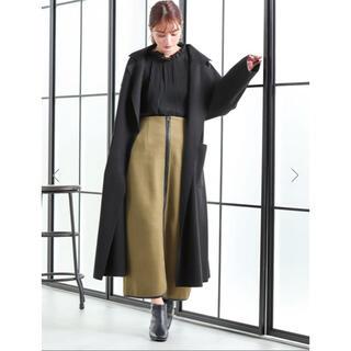 fifth - エコレザーパイピングタイトスカート