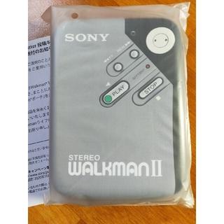 ウォークマン(WALKMAN)のレトロ ウォークマン Walkmanポーチ  未開封品(ヘッドフォン/イヤフォン)