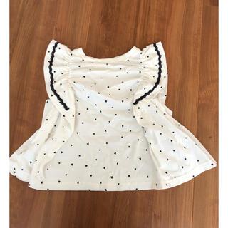 プティマイン(petit main)のアプレレクール  ハートトップス(Tシャツ/カットソー)