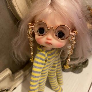 新品オビツ11 OB11人形用メガネ