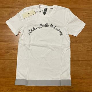 アディダスバイステラマッカートニー(adidas by Stella McCartney)のadidas by stella mccartney ロゴ 半袖Tシャツ(Tシャツ(半袖/袖なし))