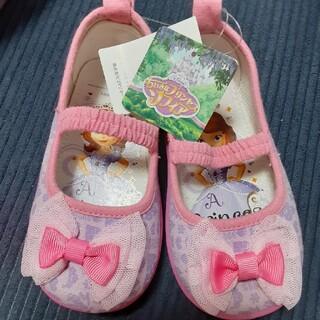 Disney - プリンセス 姫 靴 15センチ 新品未使用 タグ付き 上靴 スニーカー 運動靴