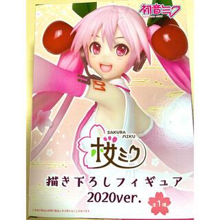 タイトー(TAITO)の桜ミク 書き下ろしフィギュア 2020ver(キャラクターグッズ)