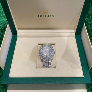 ROLEX - Rolex DateJust メンズ 40mm フルダイヤ