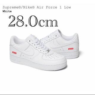 Supreme - supreme nike air force 1 low white us10
