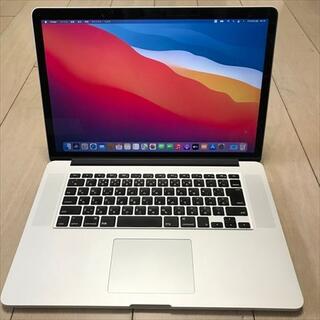 Apple - MacBook Pro 15インチ Mid 2014-i7-16-512GB(7