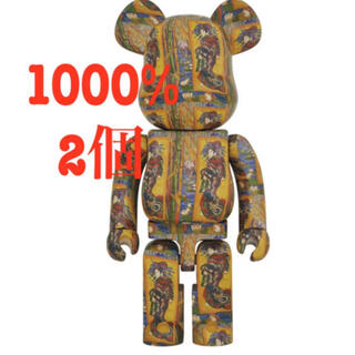 メディコムトイ(MEDICOM TOY)のBE@RBRICK Van Gogh Museum Courtesan1000%(その他)