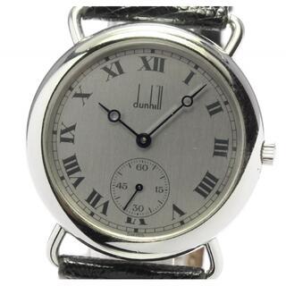 ダンヒル(Dunhill)のダンヒル  スモールセコンド  手巻き メンズ 【中古】(腕時計(アナログ))
