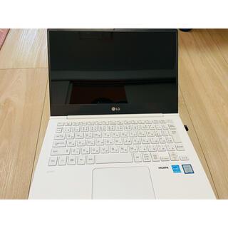 エルジーエレクトロニクス(LG Electronics)のLG gram 13.3インチ ノートパソコン(ノートPC)