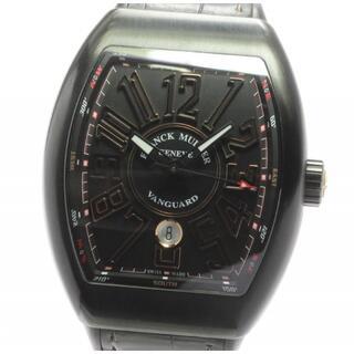 フランクミュラー(FRANCK MULLER)の☆美品 フランクミュラー ヴァンガード デイト V45SCDT メンズ 【中古】(腕時計(アナログ))