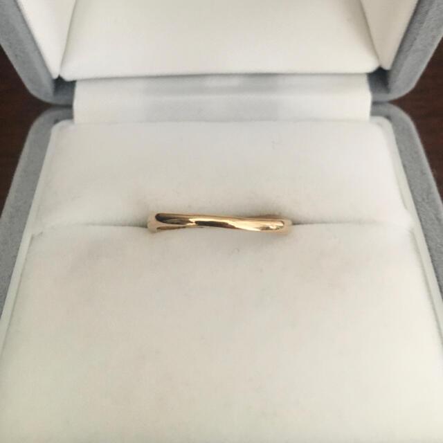 Vendome Aoyama(ヴァンドームアオヤマ)のヴァンドーム青山 ダイヤモンド リング K18YG 2.0g レディースのアクセサリー(リング(指輪))の商品写真