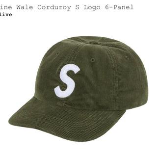 Supreme - Supreme Corduroy S Logo 6-Panel Cap